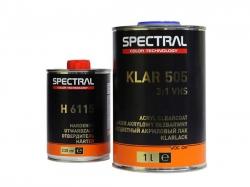 Глянцевый лак Spectral KLAR 505 комплект 1,3 л.