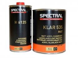 Матовый лак Spectral KLAR 535 MAT комплект 1,5 л.
